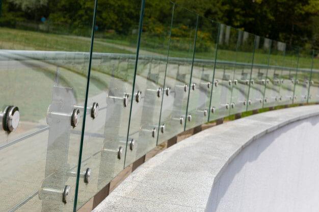 Glass railing website design picture